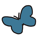 On Our Sleeves butterfly avatar
