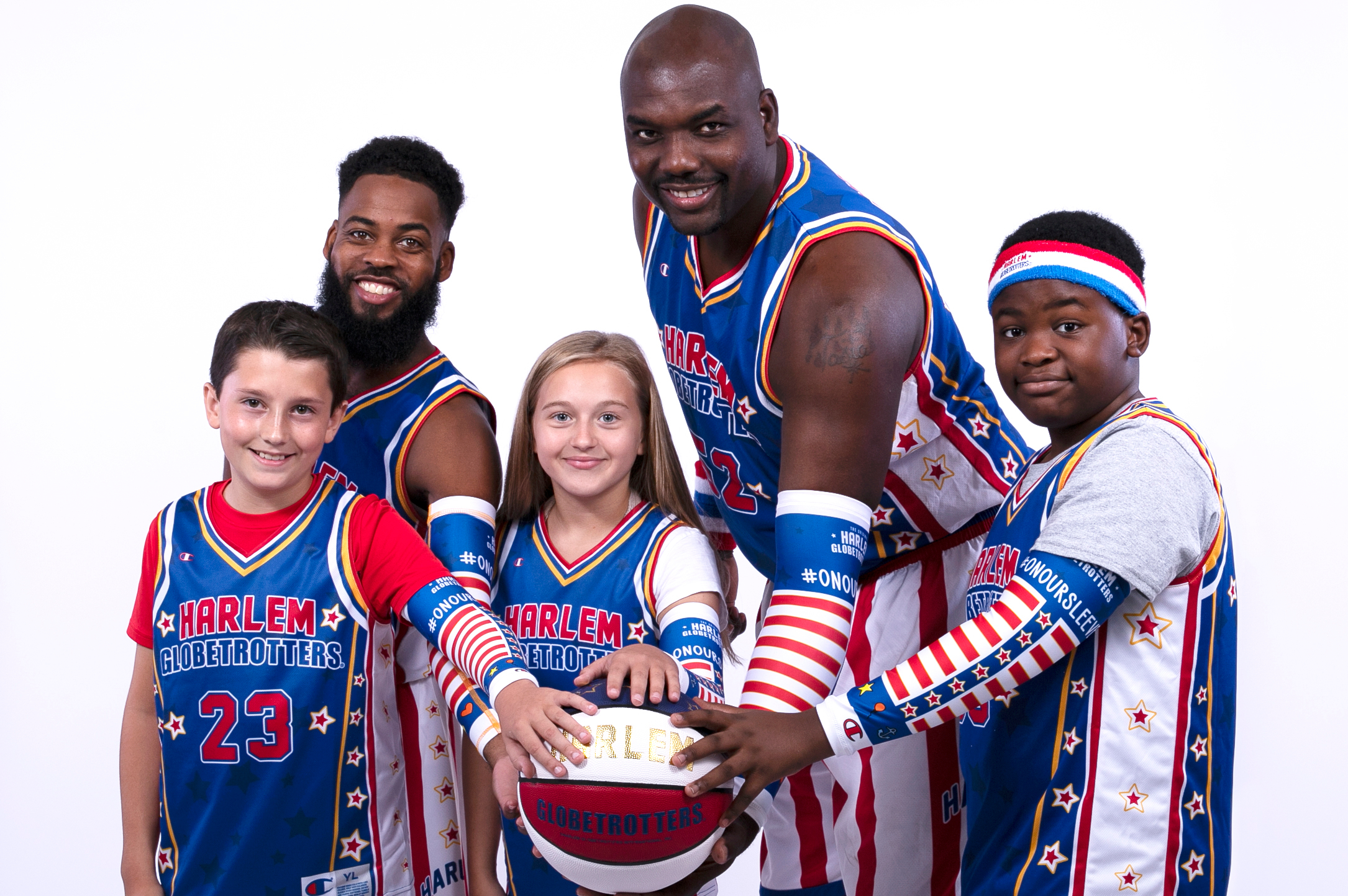 Harlem Globetrotters On Our Sleeves arm sleeve